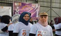 Iraqi women hold marathon in an act of reclaiming spaces