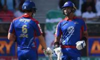 Denly, Babar help Karachi Kings amass record total of 188