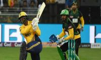 Peshawar Zalmi make 157-5 against Quetta Gladiators