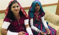 Krishna Kohli takes oath as Senator donning traditional Thari dress