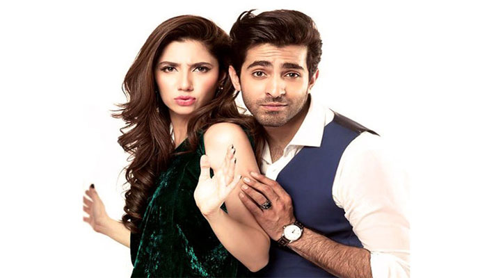Mahira Khan and Shehreyar Manwar
