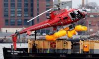 五人死于纽约河直升机坠毁