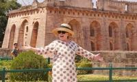 希拉里克林顿对印度的三天访问今天结束