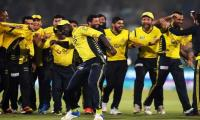 Peshawar players say they're in buoyant mood despite precarious situation