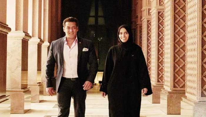 Salman Khan in Abu Dhabi for 'Race 3' shooting