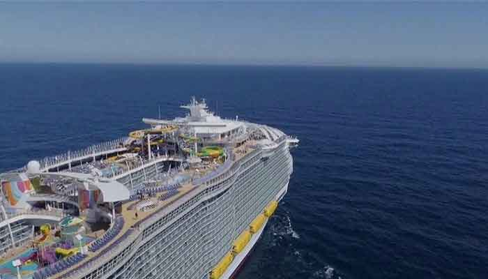 Onboard Symphony of the Seas, the world's largest cruise ship