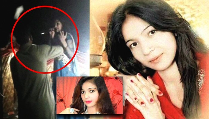 Video of pregnant Pakistani singer who was shot dead while singing surfaces