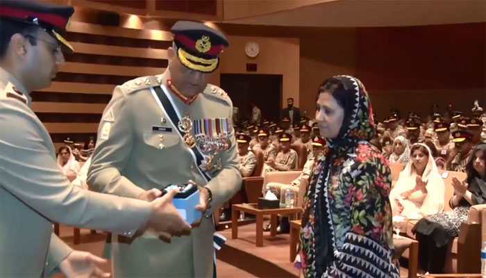 Military awards conferred on ghazis, martyrs of Pakistan army