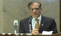 CJP takes suo motu notice of ban on Nawaz's anti-judiciary speeches