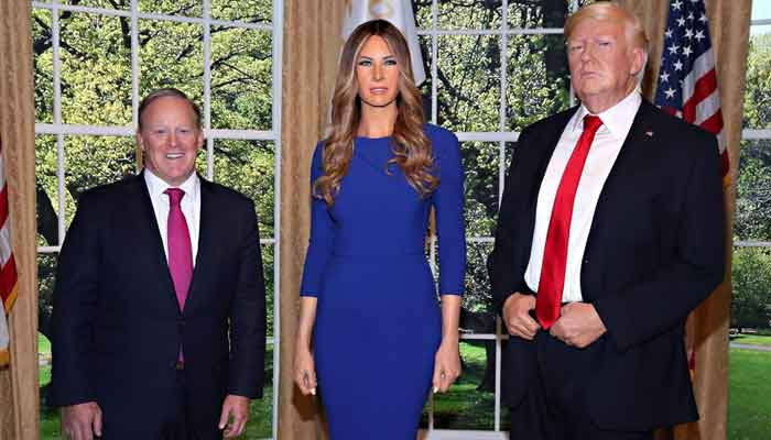 Wax figure of Melania Trump unveiled at Madame Tussauds New York