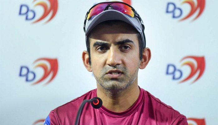 Gautam Gambhir wants India to ban Pakistanis from all industries