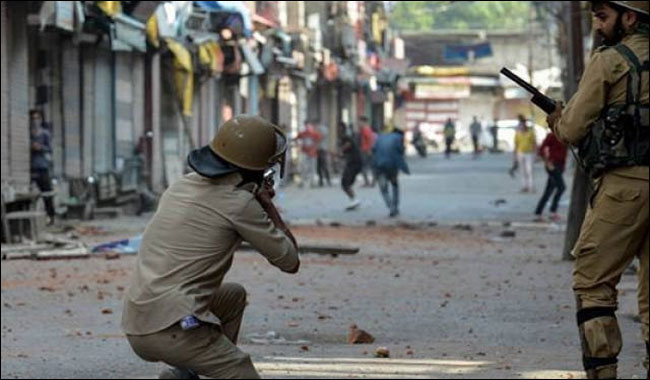 Five Hizbul terrorists, including professor killed in Kashmir clash
