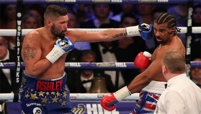 Bellew stops Haye in 5th round in all-British grudge rematch
