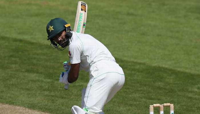 Asad punishes bowlers in tour match