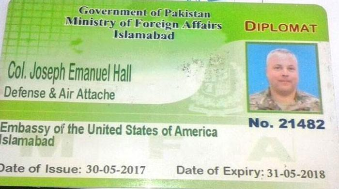 Pakistani authorities bar United States  envoy involved in mishap from leaving country