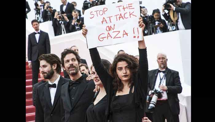 Palestinian actors takeover Cannes to send the world a message