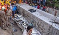 17 dead as under-construction flyover collapses in India's UP