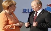 Merkel, Putin revive dialogue after Trump scraps Iran deal
