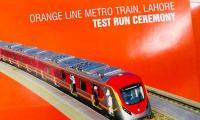 Shehbaz questions performance of Imran, Zardari at Orange Line train test run