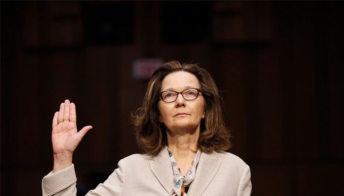 Senate panel OK's Haspel for Central Intelligence Agency head