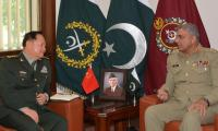 Chinese Gen calls on COAS, lauds Pak Army's security for CPEC