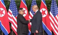 Trump, Kim hold historic meeting to end nuclear stand-off
