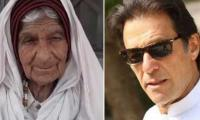 Woman, 100, challenges Imran Khan in Bannu