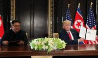 Kim, Trump commit to restart repatriating remains from N.Korea