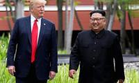 特朗普说NKorea不再是核威胁