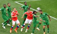 FIFA 2018: Host Russia thrash Saudi Arabia 5-0 in World Cup opener
