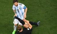 Messi loses his cool as Argentina's World Cup dream turns to nightmare