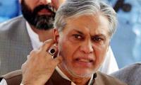 Dar evades question on Pakistan return
