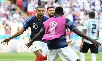 FIFA World Cup 2018: Mbappe ´happy´ but says Pele ´on another level´