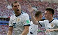 Akinfeev stars as Russia stun Spain on penalties
