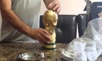 World Cup trophy hookah pipe a hit in Egypt