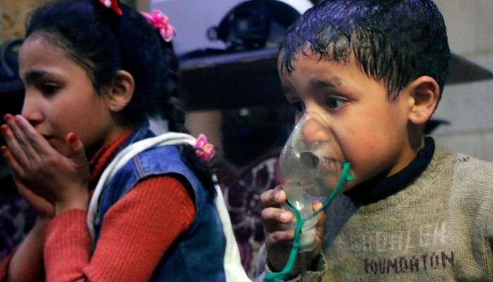 Interim OPCW report finds chlorine used in Syria's Douma-document