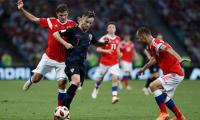 FIFA 2018: Croatia beat Russia on penalties to set up World Cup semi against England