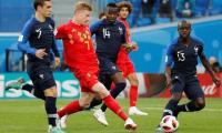 Lloris keeps France-Belgium World Cup semi-final goalless at half-time