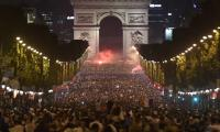 Paris celebrates France´s march to the World Cup final
