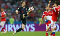World Cup 2018: Croatia beat England 2-1 to reach final