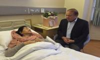 Kulsoom Nawaz blinked her eyes, but still unconscious, says Maryam Nawaz