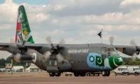 PAF Hercules arrives in UK to participate in Royal Air Tattoo Show 2018