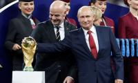 Putin gives soccer fans visa-free Russia entry to end-2018