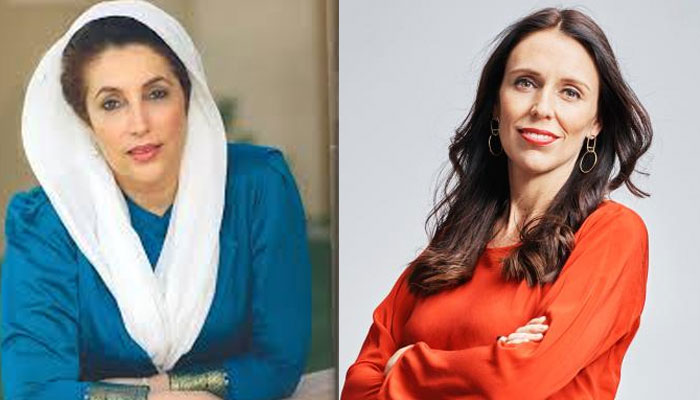 jacinda ardern second female pm after benazir bhutto to give birth