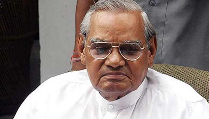 Atal Bihari Vajpayee cremated, daughter Namita lights funeral pyre