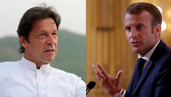 Tell them to call in 30 minutes, I'm busy here; PM Imran on French President's call