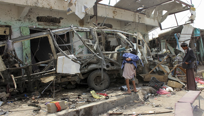 Yemen conflict: Saudi-led coalition admits mistakes in deadly bus strike
