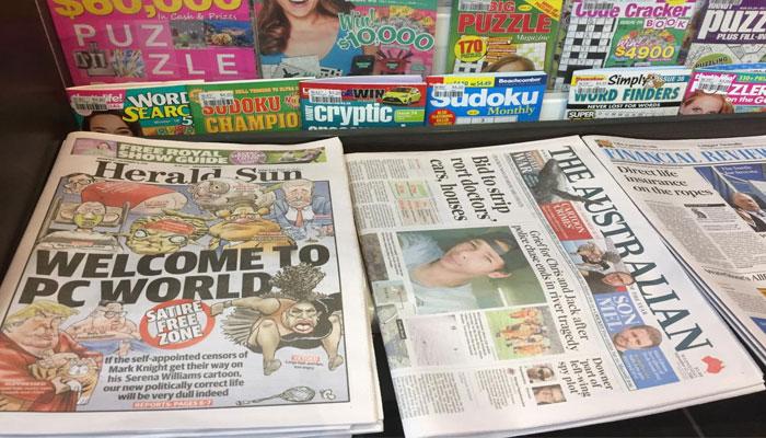 Shocking 'death threat' development over 'racist' Serena cartoon