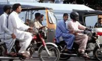 Peshawar administration bans pillion riding