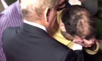 Kulsoom Nawaz's death: Hussain Nawaz breaks down in tears, hugs uncle Shehbaz in London